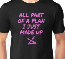 Jinx LOL - All part of a plan i just made up Unisex T-Shirt