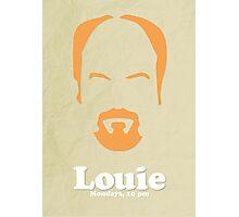Louie Custom Poster Photographic Print