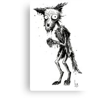 DECAY FOX Canvas Print