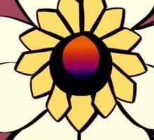 Limited Edition Malibu NeoTrad Flower Sticker