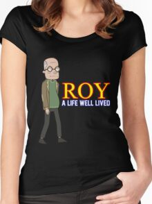 'ROY' (Rick and Morty) Women's Fitted Scoop T-Shirt