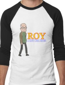 'ROY' (Rick and Morty) Men's Baseball ¾ T-Shirt