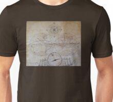 vintage map. Unisex T-Shirt