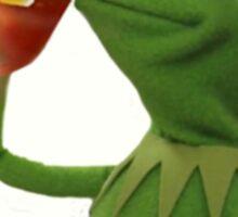 Kermit the Frog Tea meme Sticker
