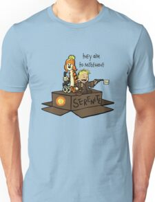 They aim to Misbehave Unisex T-Shirt