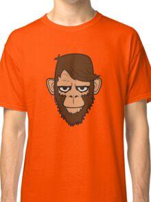 Monkey Hipster Beard Classic T-Shirt