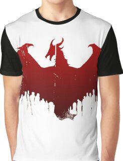 Dragon II Grunge Graphic T-Shirt