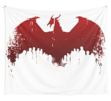 Dragon II Grunge Wall Tapestry