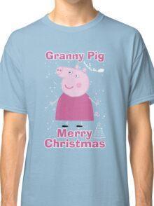 Granny pig (merry christmas) Classic T-Shirt