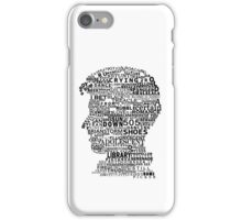 Alex Turner Discography iPhone Case/Skin