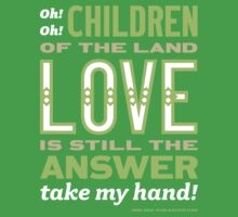 Children of the Land (green/tan) One Piece - Short Sleeve