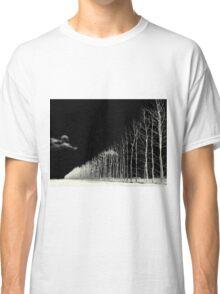 white trees Classic T-Shirt