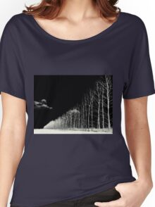 white trees Women's Relaxed Fit T-Shirt