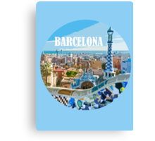 Barcelona is my home Canvas Print