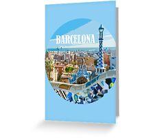 Barcelona is my home Greeting Card