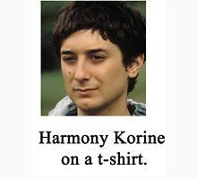 Harmony Korine on a t-shirt. Unisex T-Shirt