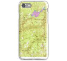 USGS TOPO Map California CA Sly Park 300541 1952 24000 geo iPhone Case/Skin