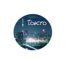 TOKYO is my Home Photographic Print