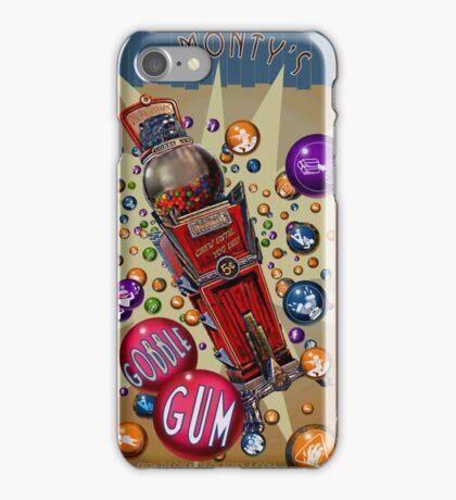 Dr. Monty's Gobblegum iPhone Case/Skin