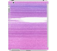 New in shop : Original brush pattern Purple iPad Case/Skin