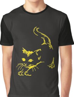 funny cats meow Graphic T-Shirt