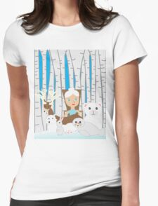Mother Nature Winter Scene T-Shirt