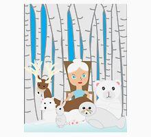 Mother Nature Winter Scene T-Shirt