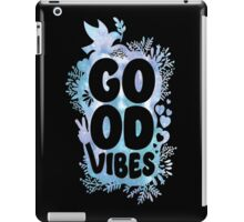 GOOD VIBES WATER COLOR  iPad Case/Skin