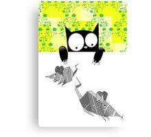 Origami Mice  Canvas Print
