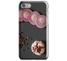 Raw vegetables for healthily cooking iPhone Case/Skin