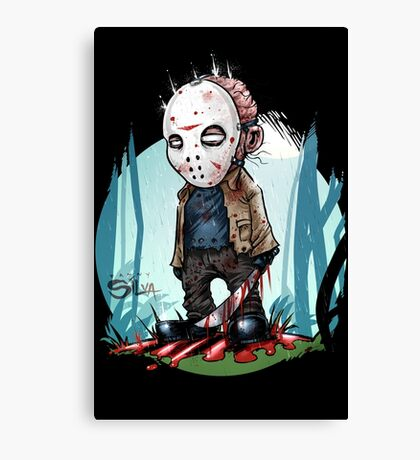 Little Jason Voorhees Canvas Print