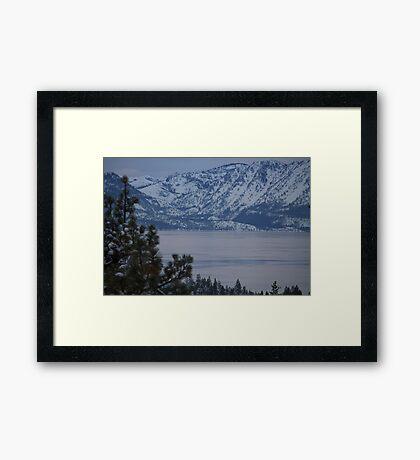 Lake Tahoe Framed Print