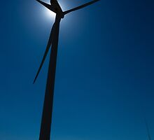 Wind Mill - Mojave by Edmond Leung