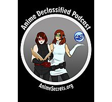 Anime Declassified Podcast Photographic Print