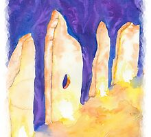 The Raising of the Stones by InnerArtSpirit