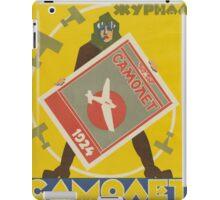 Retro magazine's advertising poster iPad Case/Skin
