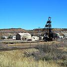 Campbell Mine Header - Bisbee Arizona by Ann  Warrenton