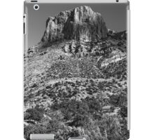 Mountain landscape in Big Bend National Park, Texas iPad Case/Skin