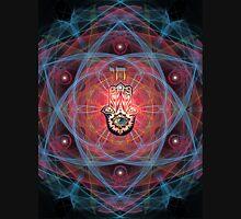 Hamsa - CHAI - Sacred Geometry Unisex T-Shirt