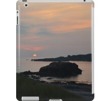 Sunset off Iona iPad Case/Skin