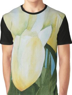 Yellow Tulips Graphic T-Shirt