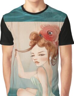 Drawing Day  | Girl 64 : The other fish in the sea Graphic T-Shirt