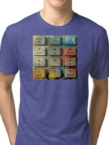 Keyboard II Tri-blend T-Shirt