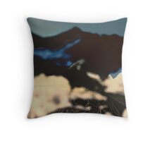 Head in the Clouds, Feet in the Sand Throw Pillow