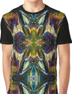 Psychedelic Purple Moth Abstract Graphic T-Shirt