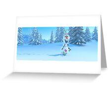 Olaf Greeting Card