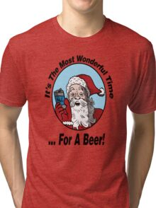 It's The Most Wonderful Time for a Beer Tri-blend T-Shirt