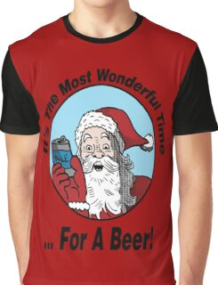It's The Most Wonderful Time for a Beer Graphic T-Shirt