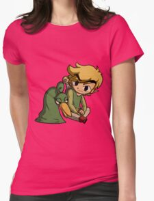 Link and Ezlo Womens Fitted T-Shirt