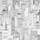 City Doodle by Beth Thompson
